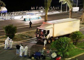 Nice attack truck (Sasha Goldsmith/AP)