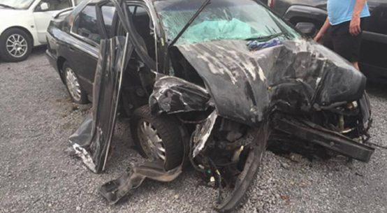 Car crash while playing Pokemon Go