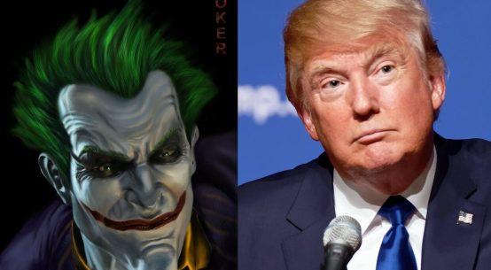 The Joker and Donald Trump
