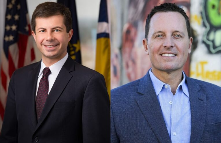 Pete Buttgieg and Richard Grenell